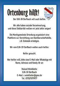 Ortenburg Hilft